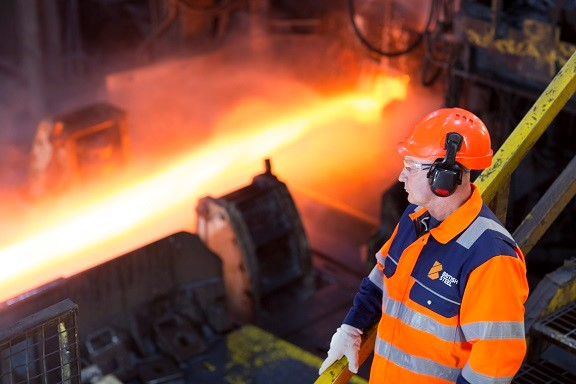 British Steel manufactures Special Profiles at Skinningrove.
