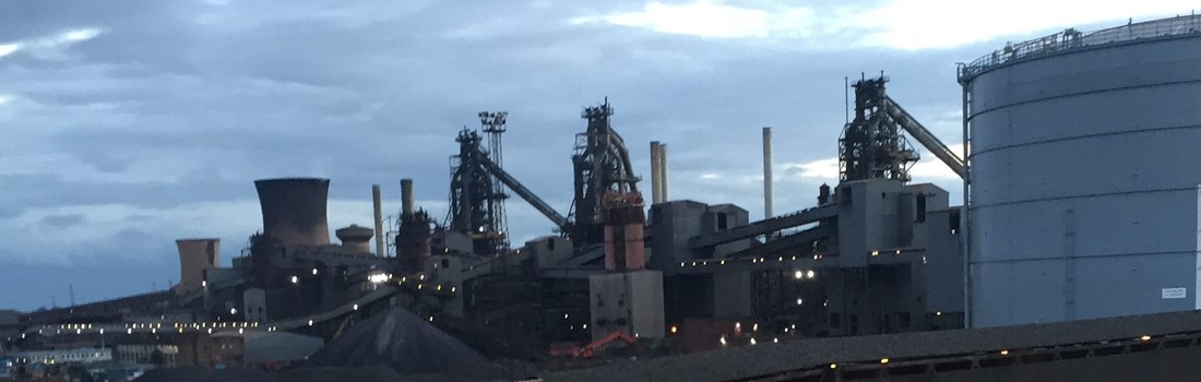 The blast furnaces - our four queens of ironmaking.