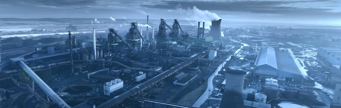 Panoramic view of our Scunthorpe steelworks