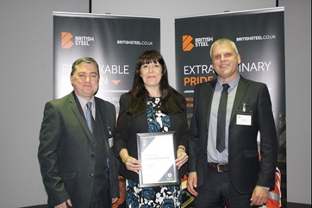 Micronclean with their certificate for Best New Entrant