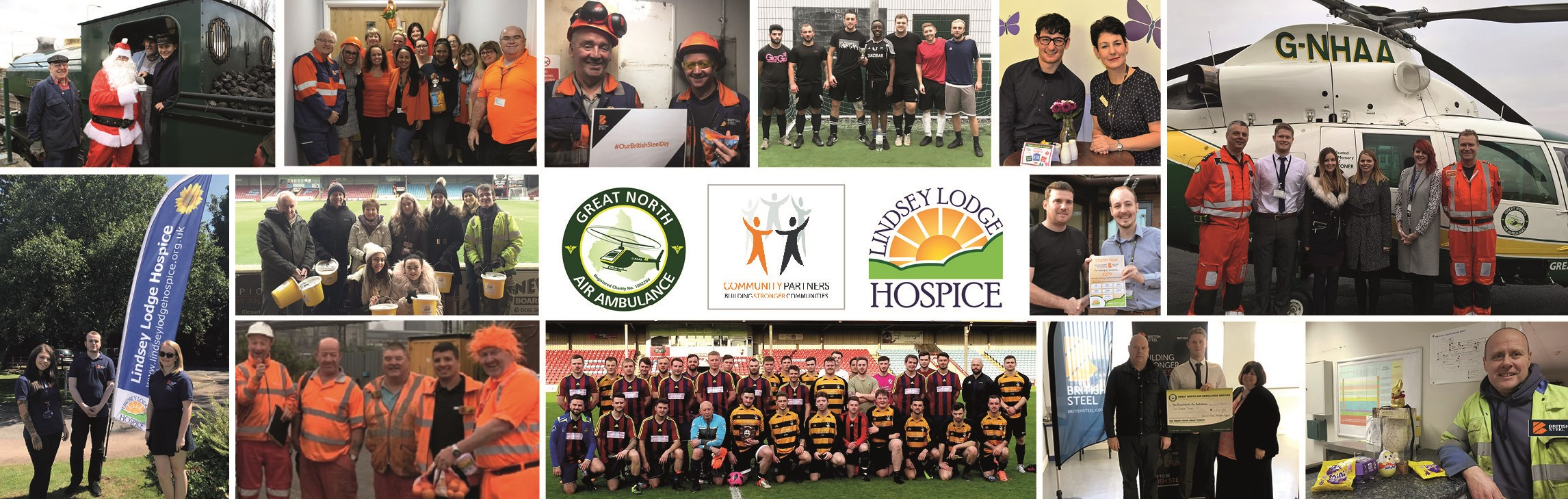 Some of our favourite moments supporting our Community Partners over the last 2 years
