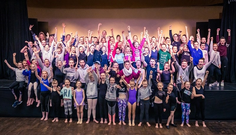 VICTORY DANCE: Youngsters who use the Kimberley Performing Arts Centre in Scunthorpe are celebrating their British Steel Landfill Communities Funding windfall.