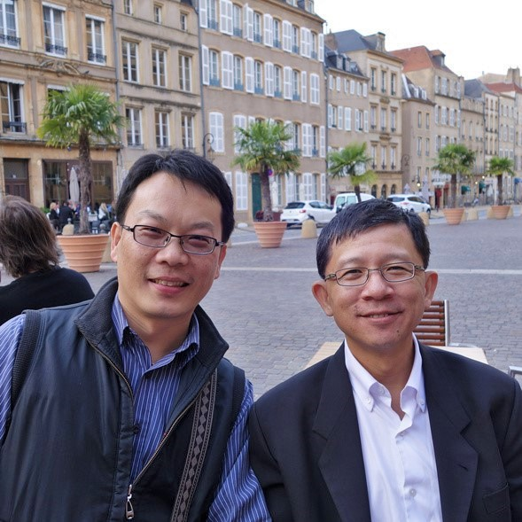 CTCI Jack Hung (Project Quality Manager) and Bernard Chung during Factory acceptance testing at Hayange - France