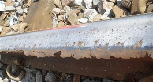 R260 rail damage at Drax - Plastic flow, lipping and spalling of surface
