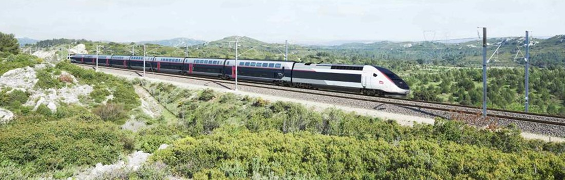 High-speed railway using rail from British Steel