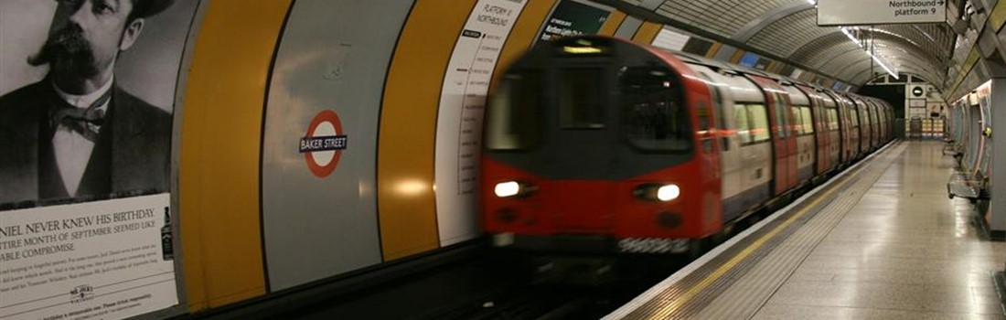 Metro rail system - London Underground using British Steel to keep commuters on the move