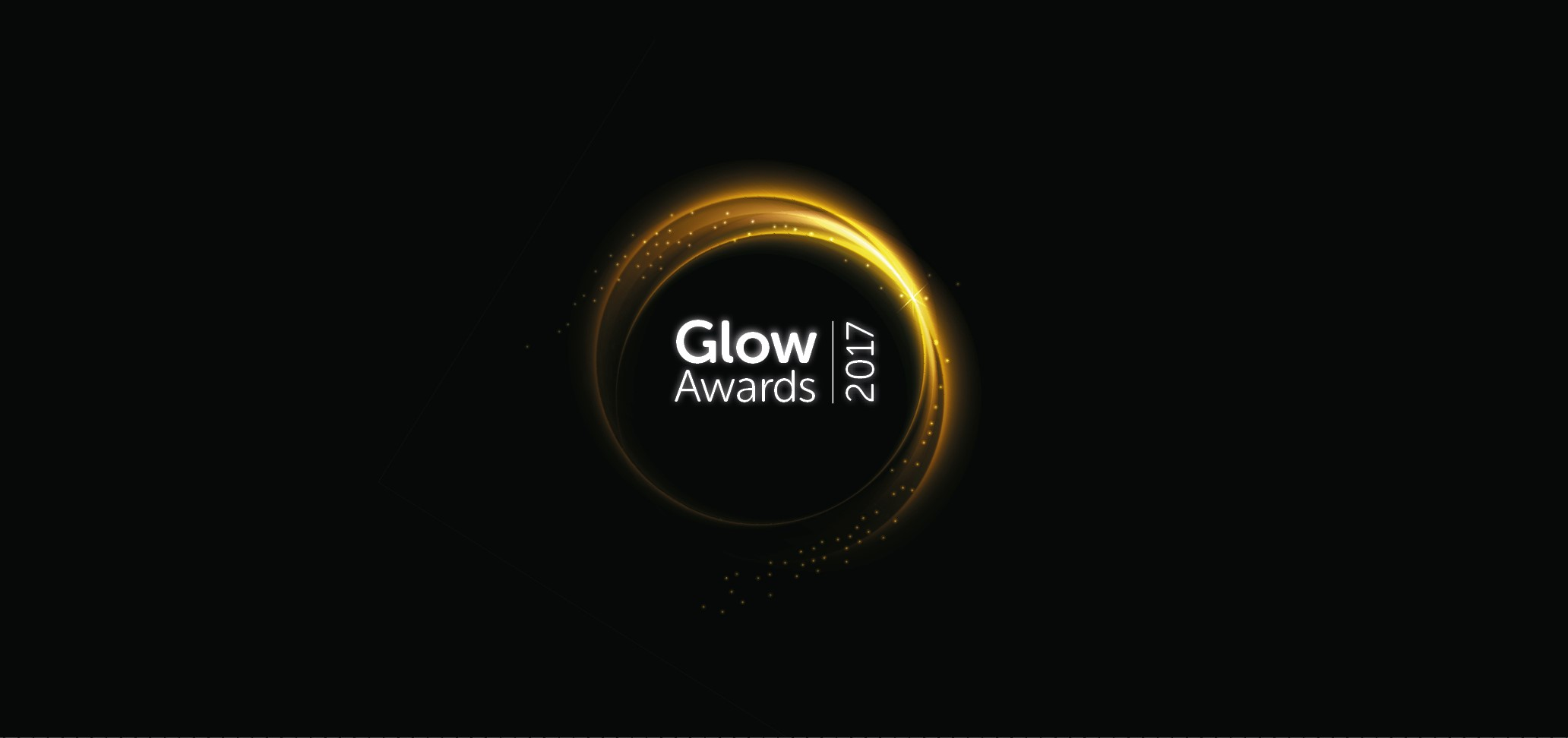Logo for British Steel's Glow awards.