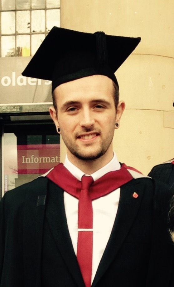 Electrical Graduate Matthew Jarvis.